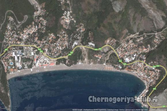 Карта Бечичи google.