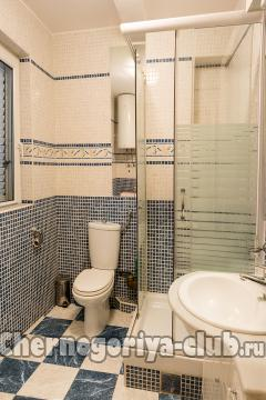Апартамент в Святом Стефане за 60 €  в сутки