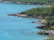 Пляж Oblatno (Облатно, галечно-песчаный)