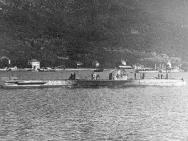 Дайвинг U-72(немецкая океанская субмарина UE-I класса)