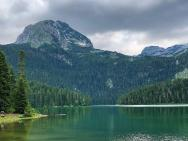 Природа Черное озеро