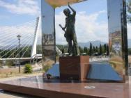 Памятник Памятник Высоцкому в Подгорице