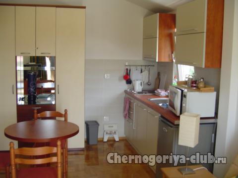 Квартира студия Черногория