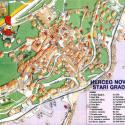 Карта Герцег Нови - старый город