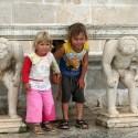 Дети в Боке Которской