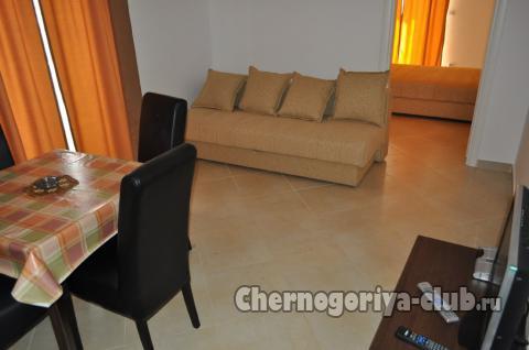 Апартамент в Бечичи за 52 €  в сутки