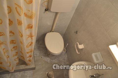 Апартамент в Будве за 15 €  в сутки