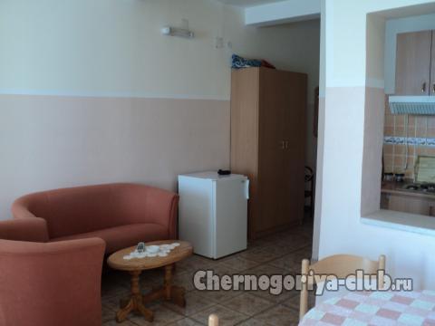 Апартамент в Сутоморе за 70 €  в сутки