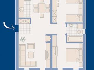 Апартамент в Которе за 40 €  в сутки