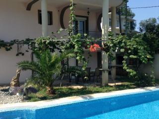 фото 1 - Вид дома со стороны бассейна