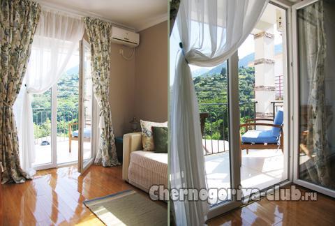 Апартамент в Тивате за 50 €  в сутки