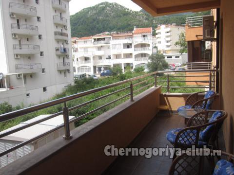 Апартамент в Будве за 29 €  в сутки