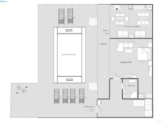 Дом/вилла в Святом Стефане за 445 €  в сутки